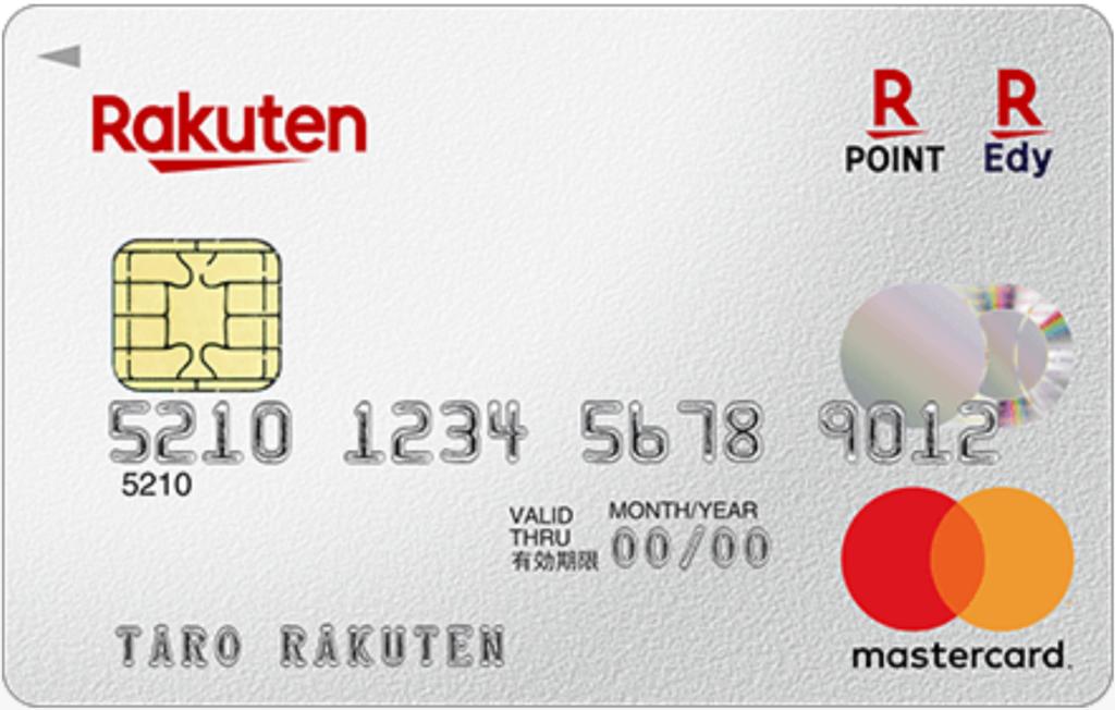 知名度でいえば、ダントツNo.1の楽天カード。
