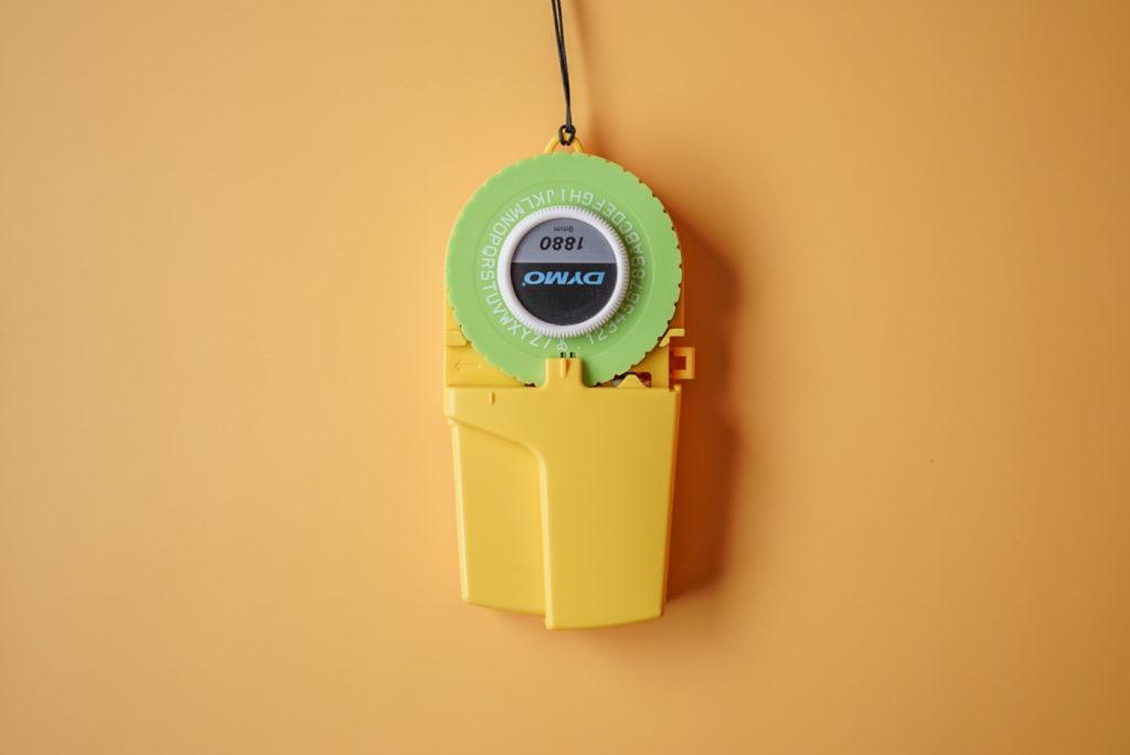 第11位:ダイモのテープライター