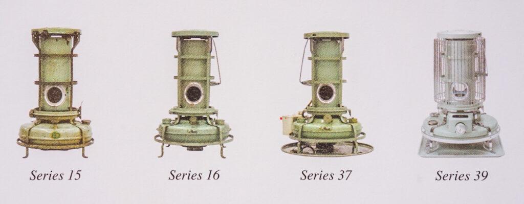 ブルーフレームヒーターはなんと約80年も前から発売していて、基本的な形と構造はあまり変わっていないんですね。